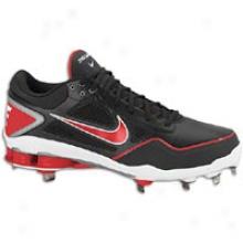 Nike Shox Gamer - Mens - Black/game Red/white/metallic Silver
