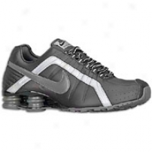 Nike Shox Junior - Mens - Black/black/metallic Silver/dark Grey