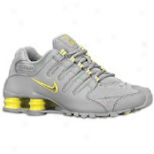 Nike Shox Nz - Womens - Medium Grey/sonic Yellow