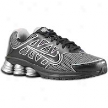 Nike Shox Qualify 2 - Big Kid s- Black/black/metallic Silver