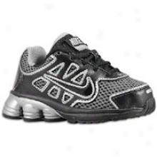 Nike Shox Qualify 2 - Toddlers - Black/black/metallic Silver