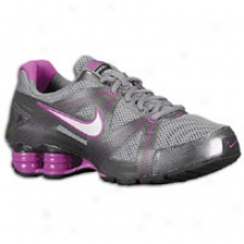 Nike Shpx Reveal + 5 - Womens - Cool Grey/metallic Silver/metallic Wicked Grey/berry