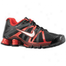 Nike Shox Roadster - Mens - Black/metallic Silver/university Red