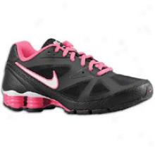 Nike Shox She Monster - Womens - Black/pink Flash