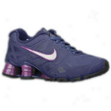 Nike Shox Turbo 12 - Big Kids - Blue Recall/imerial Purple/black/metallic Silver