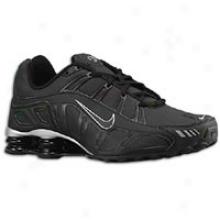 Nike Shox Turbo 3.2 Sl - Mens - Black/black/metallic Silver