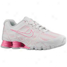 Nike Shox Turbo Xii Sl - Womens - Neutral Grey/laser Pink/neutral Grey
