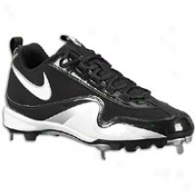 Nike Slasher - Mens - Black/white/metallic Silver