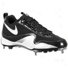 Nike Slasher - Mens - Black/white/metallic Silver