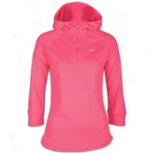 Nike Soft Hand Hoodie - Womens - Spark/bright Mango/reflective Silver