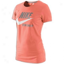 Nike Sportswear T-shirt - Womens - Light Wild Mango