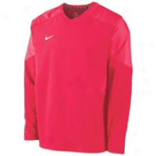 Nike Staff Ace Pullover - Mens - Scarlet/white