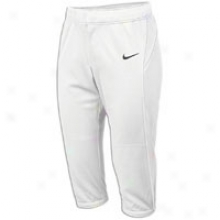 Nike Stealth Fp Pant - Womens - White/white/black