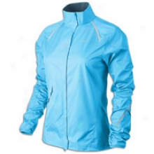 Nike Storm Fly Jacket - Womens - Blue Glow/treasure Blue/reflective Silver
