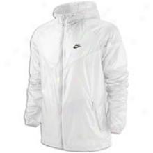 Nike Summerized Windrunner Fz Jacket - Mens - White