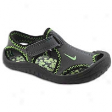 Nike Sunray Protect - Toddlers - Anthracite/black/electric Green