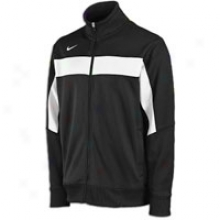 Nike Swagger Knit Full Zip Jacket - Mens - Black/white/white