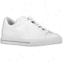 Nike Sweet Classic Leather - Womens - White/white/metallic Silver