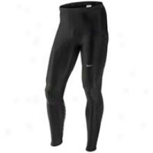 Nike Swift Tight - Mens - Black/matte Silver