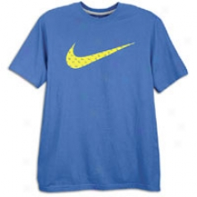 Nike Swoosh Filled S/s T-shirt - Mens - Royal
