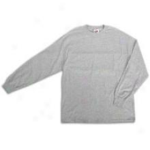 Nike Swoosh L/s T-shirt - Mens - Grey