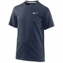Nike Swoosh T-shirt - Big Kids - Obsidian