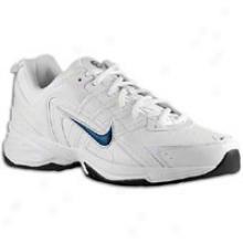 Nike T-lite Viii Leather - Mens - White/dark Obsidian/white