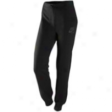 Nike Team Cuff Pant - Womens - Black