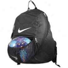 Nike Team Nutmeg Backpack - Black/black/white