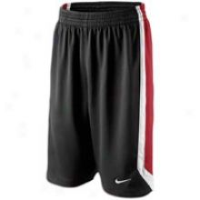 Nike Team Sphere Short - Mens - Black/varsity Red/white