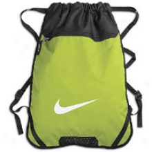 Nike Team Training Gym Sack - Cactus/black/white
