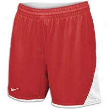 "Nike Team Usa Fast Pitch 6"" Short - Womens - Scarlet/white/white"