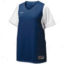 Nike Team Usa Fast Pitch Jersey - Womens - Navy/white/white