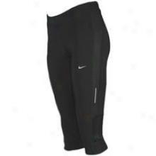 Nike Tech Capri - Womens - Spark/matte Silver