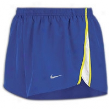 "Nike Tempo 2"" Split Short - Mens - Old Royal/white/electrolime/reflective Silvery"