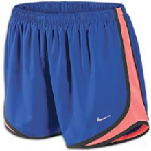 Nike Tempo Short - Womens - Old Royal/bright Mango/black/matte Silver