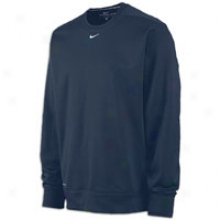 Nike Therma-fit Ko Crew - Mens - Navy/white