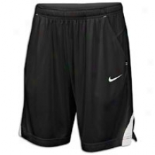 "Nike Three Pocket 11"" Short - Mens - Black/white/white"
