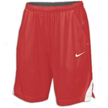 "Nike Three Endure 7"" Short - Womens - Scarlet/white/white"