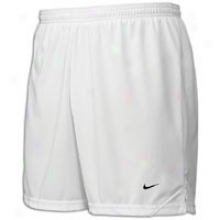 Nike Tiempo Game Short - Mens - White/white/black
