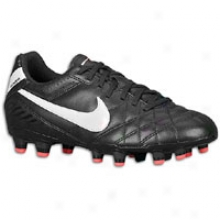 Nike Tiempo Natural 4 Fg - Womens - Black/solar Red/white