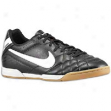 Nike Tiempo Natural Iv Ic - Mens - Black/total Orangw/white