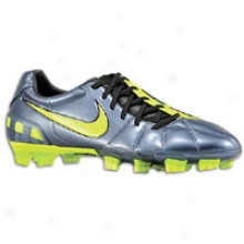 Nike Total90 Laser Iii Fg - Mens - Metallic Blue Dusk/volt/black