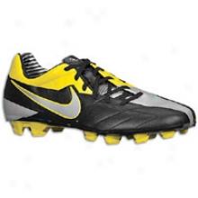 Nike Total90 Advance Iv Fg - Big Kids - Black/metallic Luster/tour Yellow