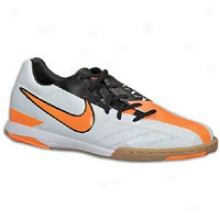 Nike Total90 Shoor Iv Ic - Big Kids - Windchill/total Orange/black