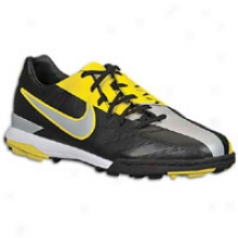 Nike Total90 Shoog Iv Tf - Mens - Black/metallic Lustsr/tour Yellow