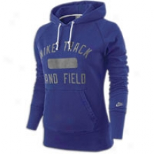 Nike Course And Field Pullover Hoodie - Womens - Loyal Blue