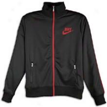 Nike Track Jacket - Mens - Black/varsity Red