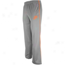 Nike Track Pant - Mens - Heather Grey/safety Oramge