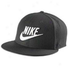 Nike True Snapback Cover - Mens - Black/white